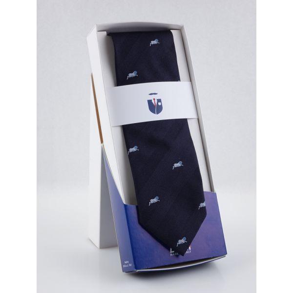 Cravatta 3 pieghe in seta ZODIACO-Ariete