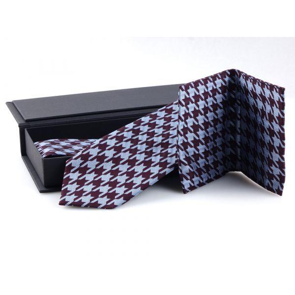 Cravatta 3 pieghe e porta documenti PULL