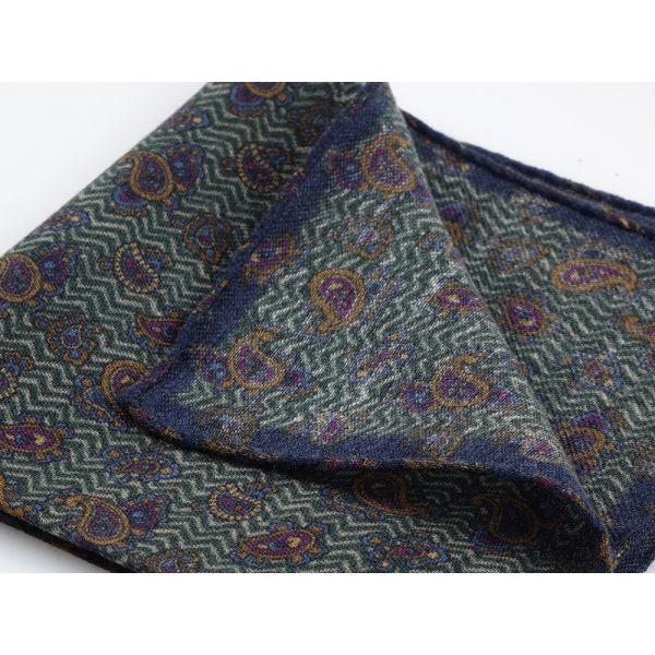 Fazzoletto da taschino TAIL in lana