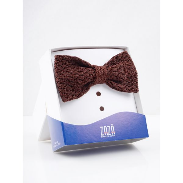 Knit silk bow ties CAPRI