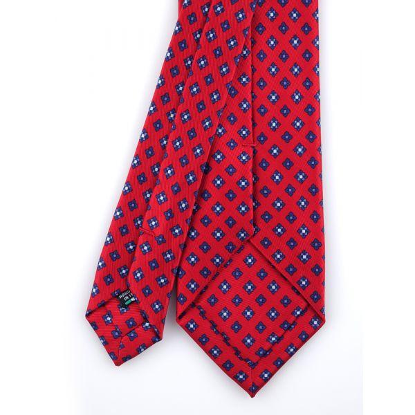 Cravatta 3 pieghe e fazzoletto da taschino OXFORD