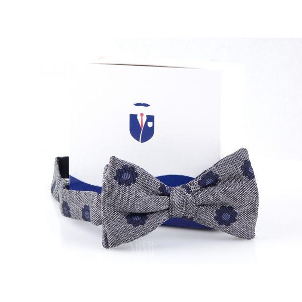 Silk/cotton bow tie POLIRA