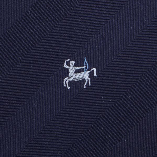 Cravatta 3 pieghe in seta ZODIACO-Sagittario
