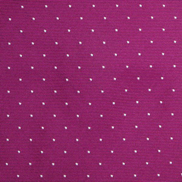 Cravatta 3 pieghe BIRBA in seta-Fucsia