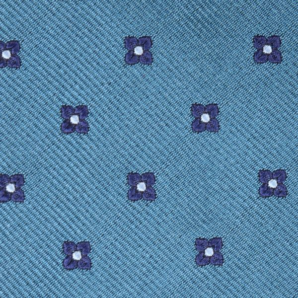 Cravatta 3 pieghe in seta WILBO