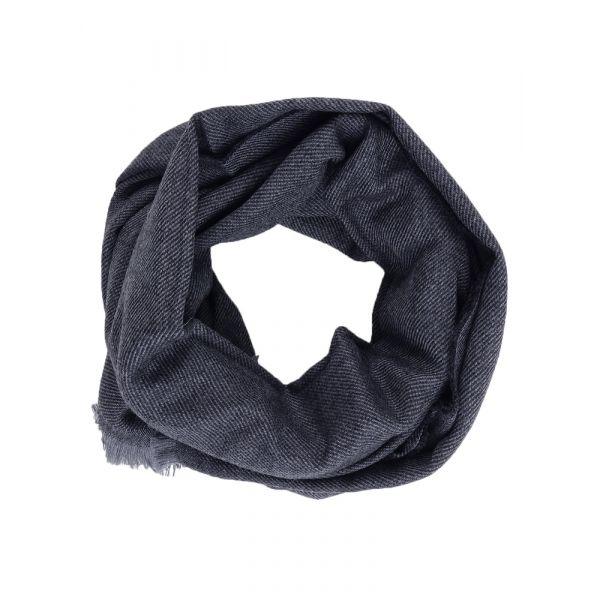 Sciarpa pura lana vergine UNITO-Grigio