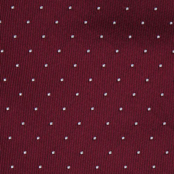 Cravatta 3 pieghe BIRBA in seta-Bordeaux