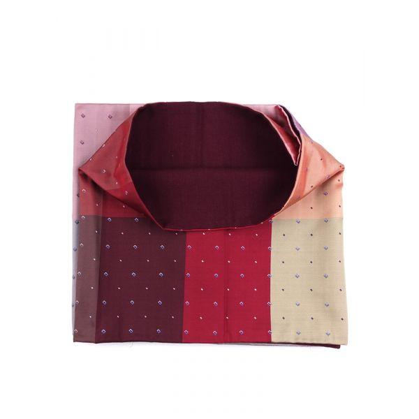 Sciarpa INFINITY UNIVERSE in seta tessuta e lana modal - Multicolor