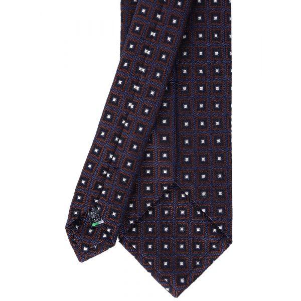 Cravatta 3 pieghe in seta SQUARE