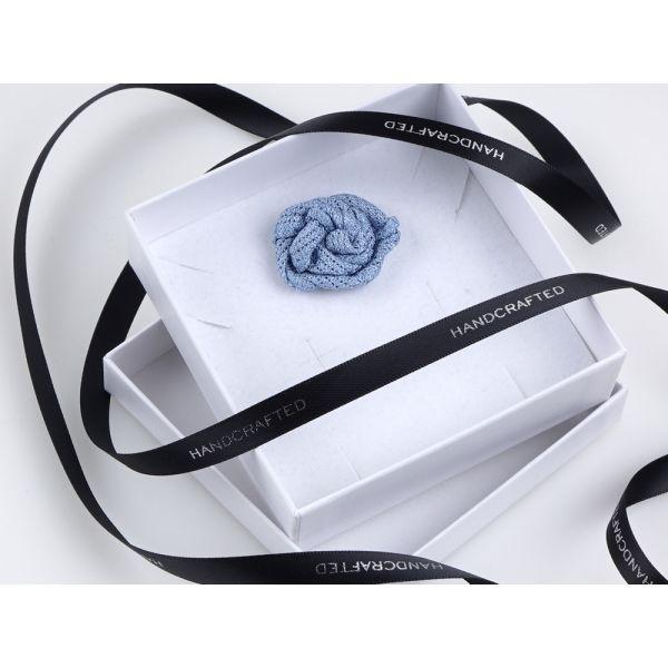 Spilla da giacca ONICE - Garza di seta