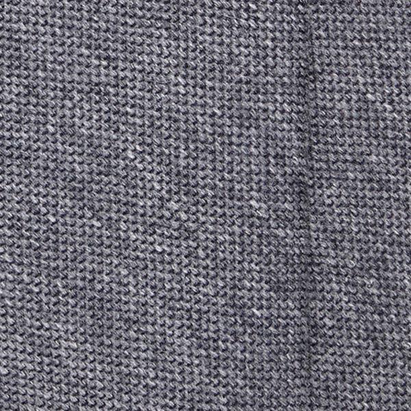Cravatta 3 Pieghe PALLINA lana - Grigia
