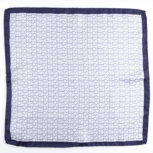 Silk pocket square FIORE