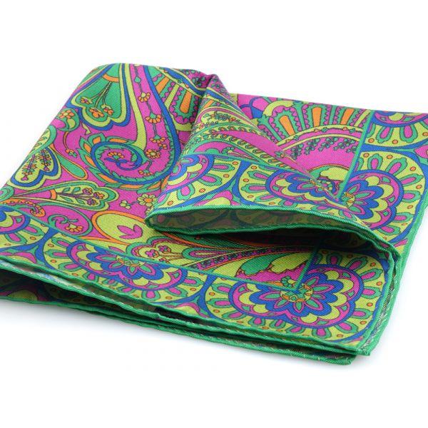 Fazzoletto da taschino SPRING-verde chiaro