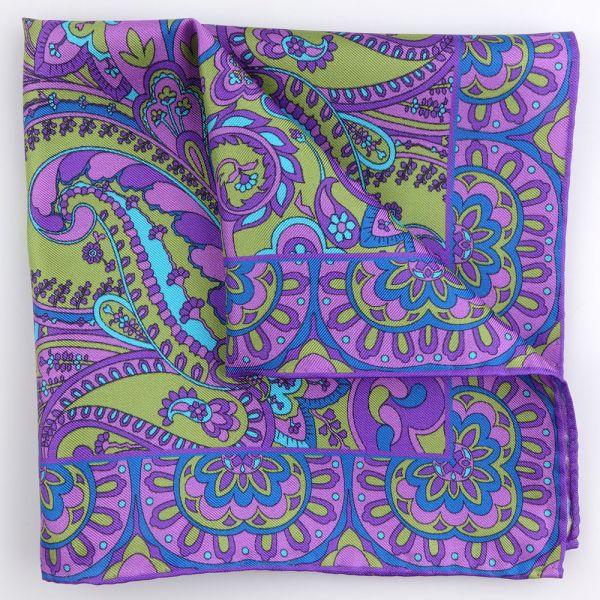 Fazzoletto da taschino SPRING-Viola