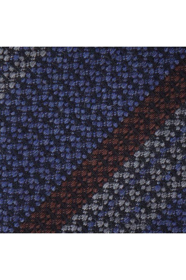 3-fold tie BARAMIA- Blue