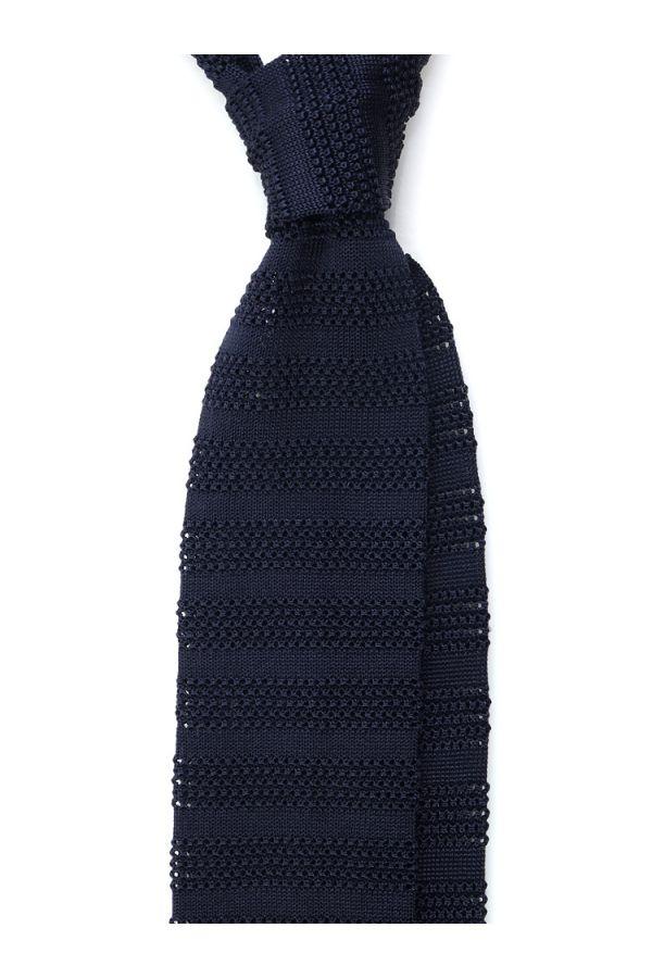 Cravatta a maglia ISCHIA-Blu