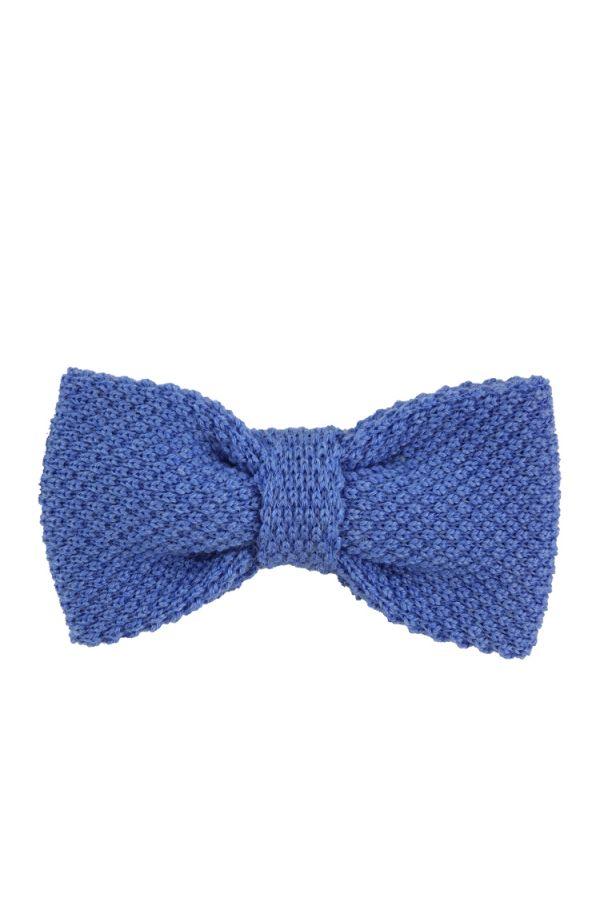 Wool Pre Tie Bow Tie CIFERO - Sky Blue