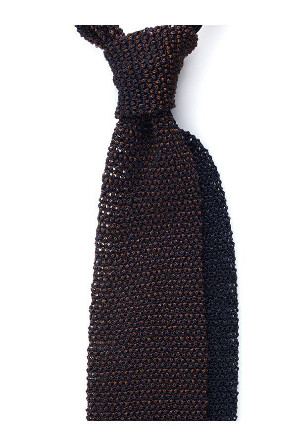 Cravatta a maglia META-Marrone