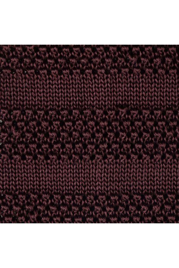 Cravatta a maglia ISCHIA-Marrone
