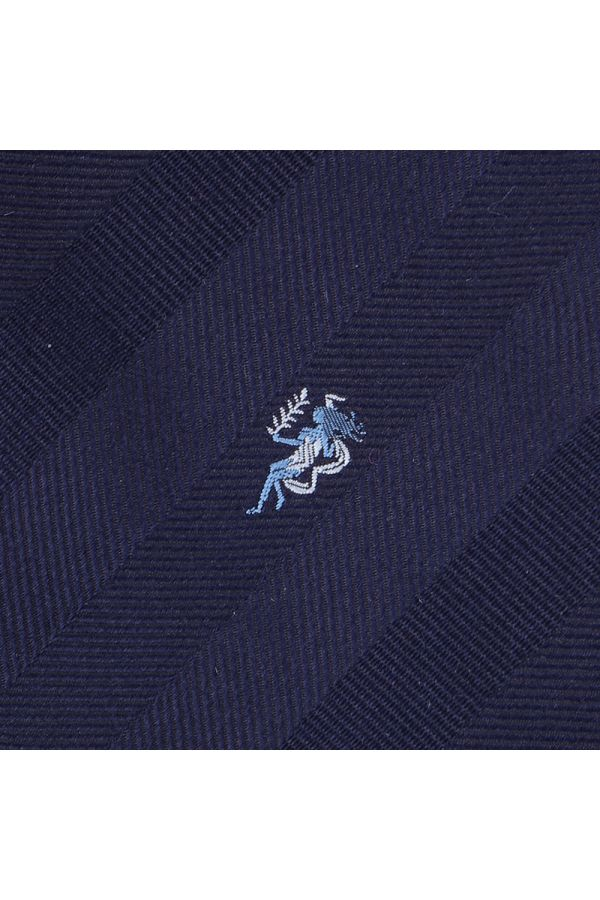 Cravatta 3 pieghe in seta ZODIACO-Vergine