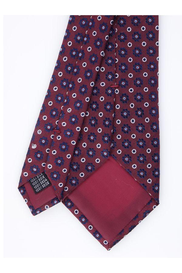 Cravatta 3 pieghe Fragola