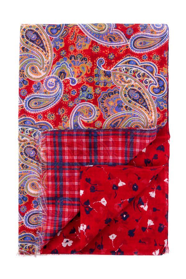 Sciarpa 100% cotone DREAMY - Rosso