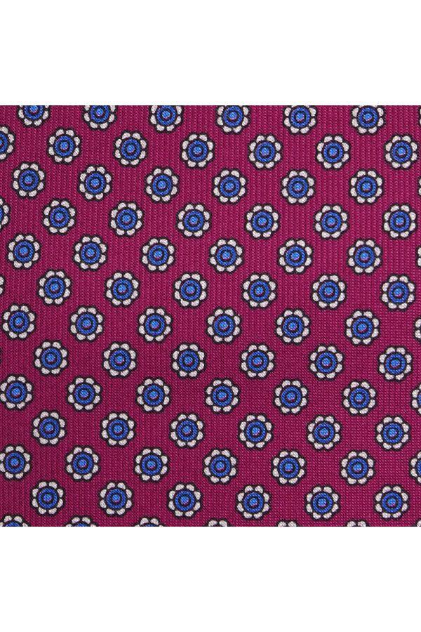 Cravatta 3 pieghe AD2186 con portalenti abbinato