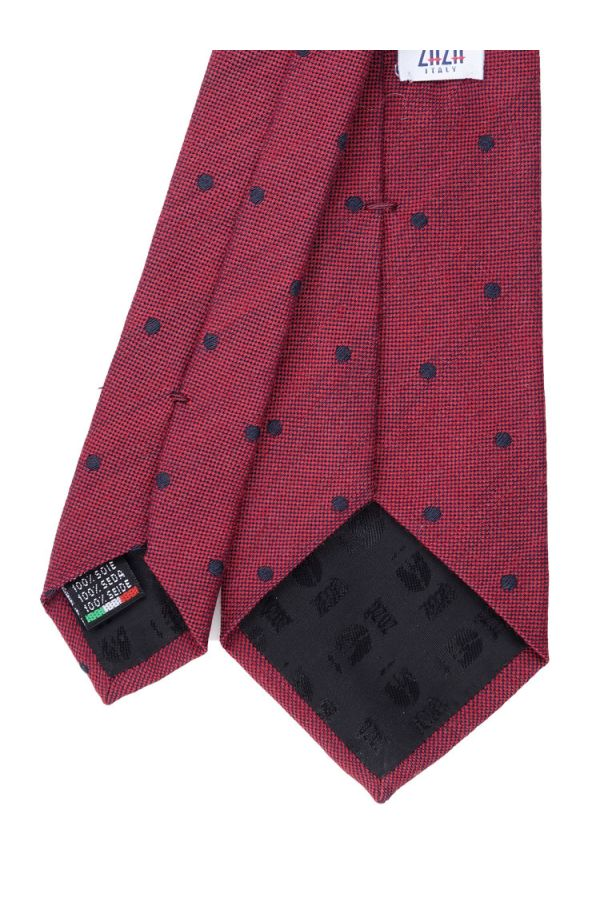 3-fold tie DIONA-Dark red
