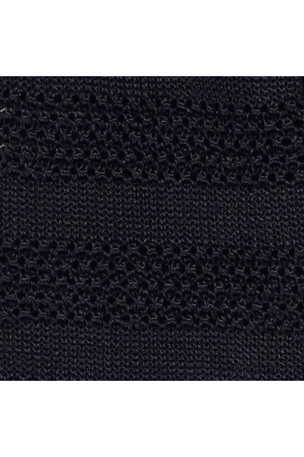 Cravatta a maglia ISCHIA- Nera