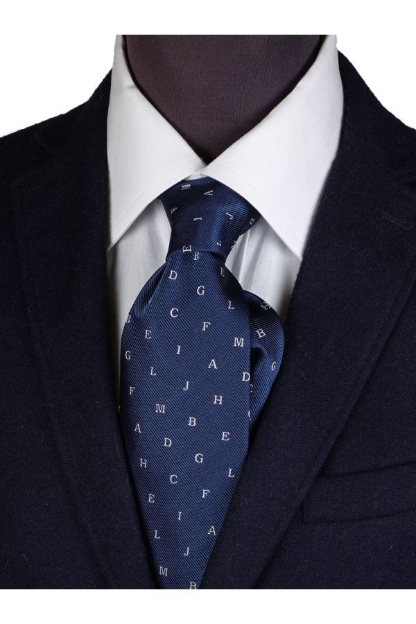 Cravatta 3 pieghe in seta ALFA
