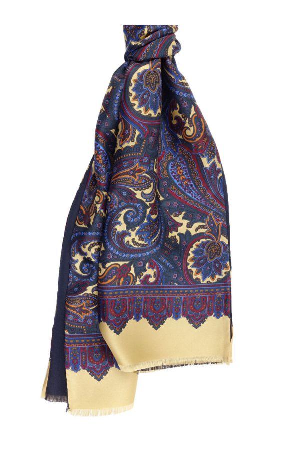 Sciarpa in seta ALMERIA-Giallo
