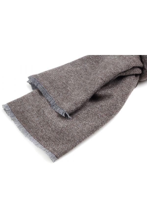 Sciarpa lana/poliestere BERNA-Marrone