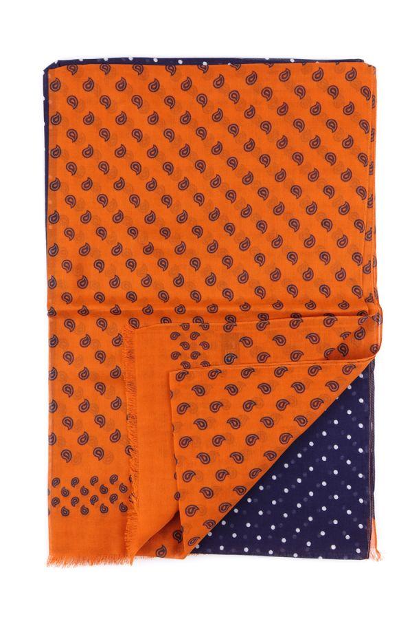 Sciarpa  100% cotone BERTA - Arancione