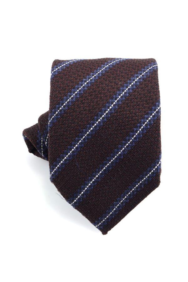 3-fold tie BORA -Brown