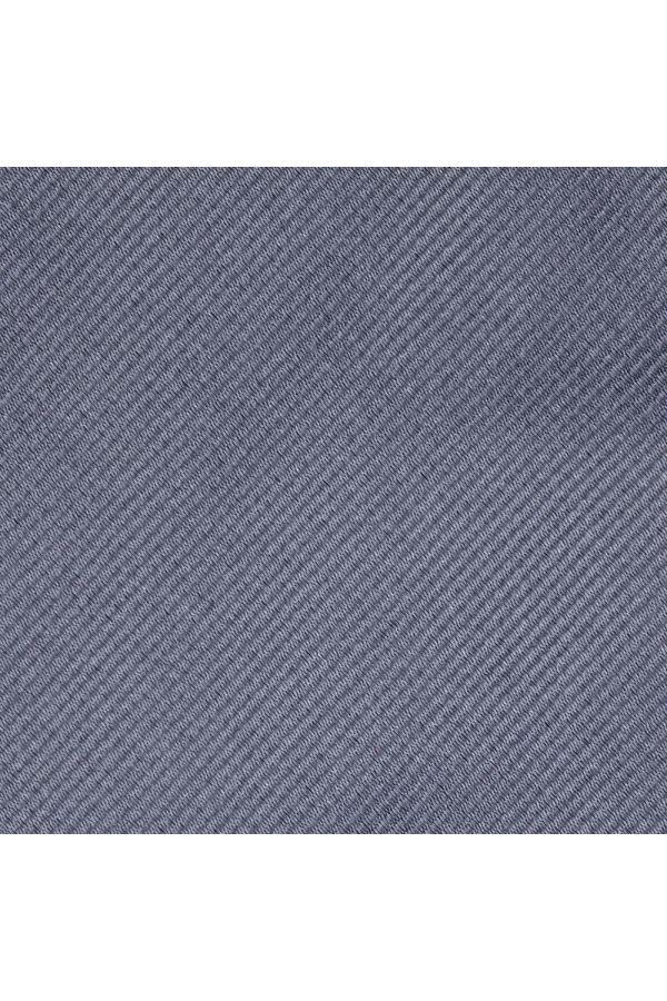 Cravatta 3 pieghe UCRIA in seta-Grigio Chiaro