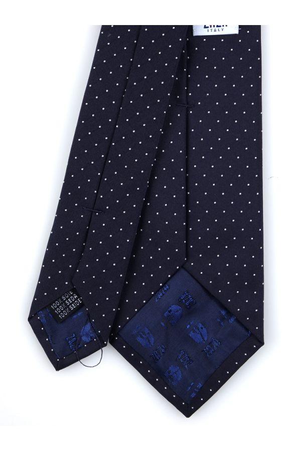 3-fold tie BIRBA-Navy blue