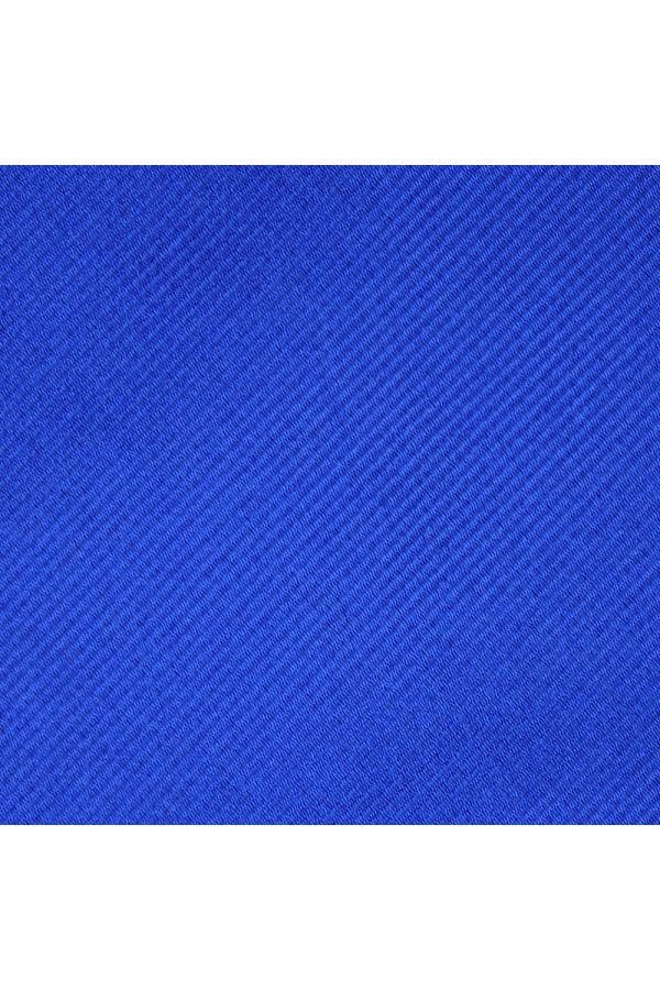 Cravatta 3 pieghe UCRIA in seta-Blu elettrico