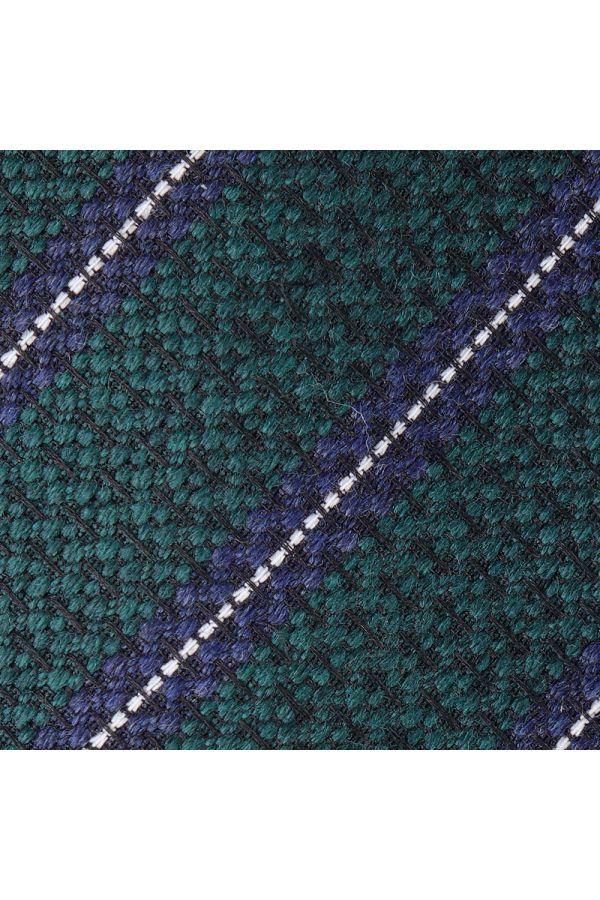 Cravatta 3 pieghe BORA in seta- Verde