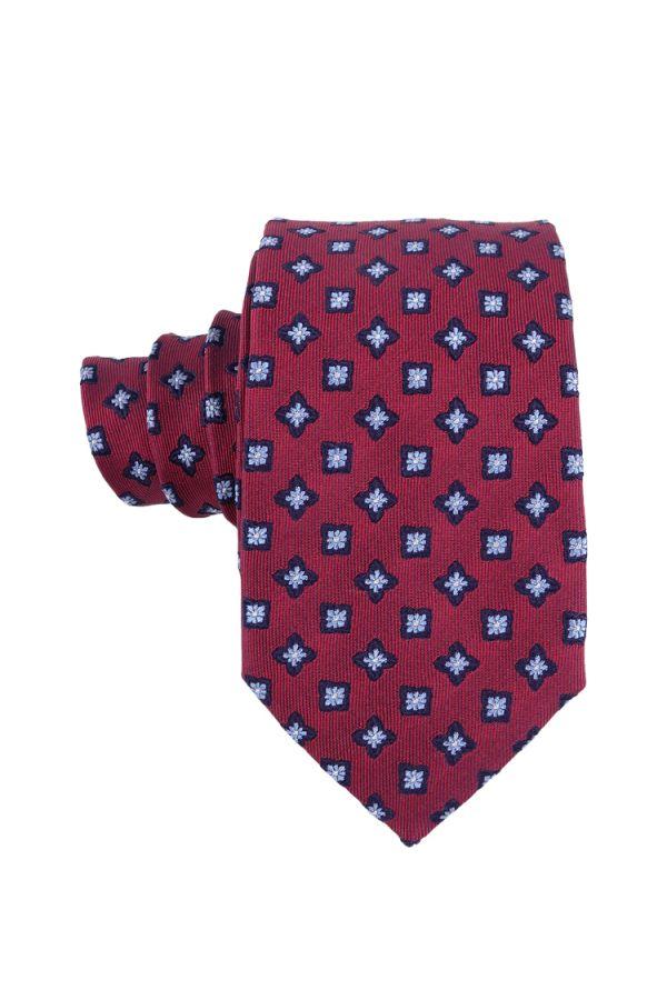 Cravatta 3 pieghe in seta LEONA