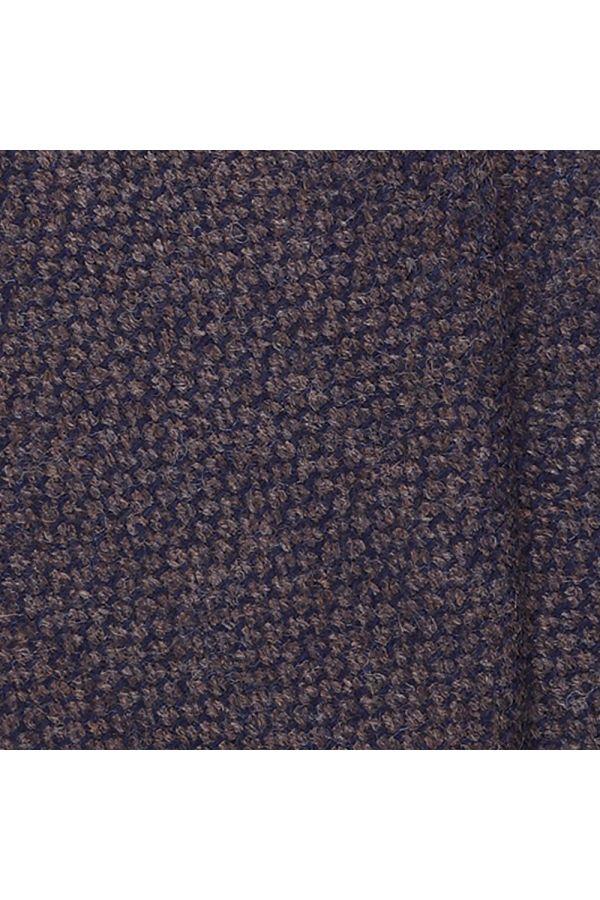 Cravatta 3 Pieghe LETIZIA lana - Marrone