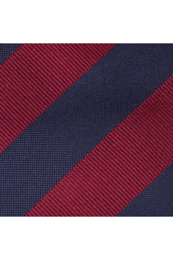 Cravatta 7 Pieghe MIRNIA inseta tessuta-Rosso scuro