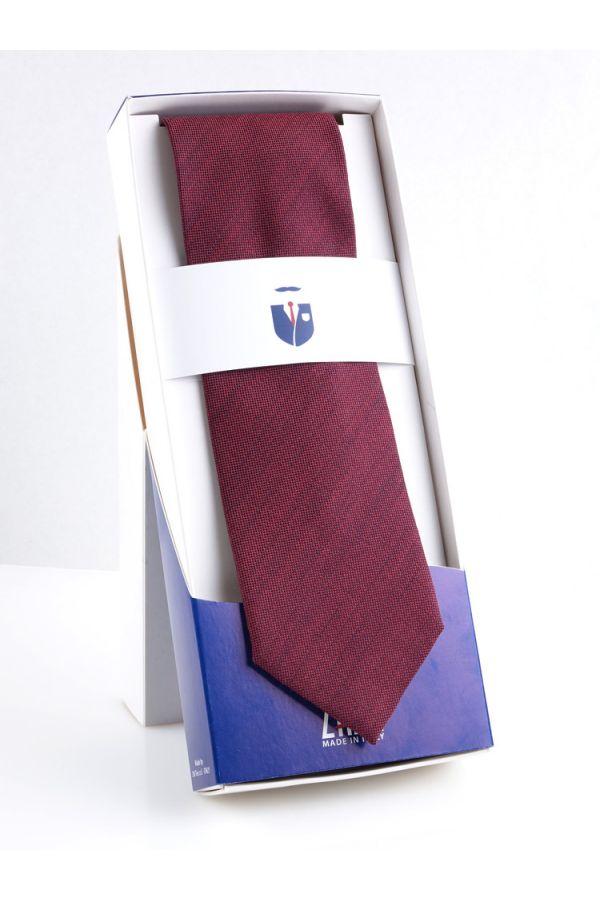 3-fold tie OSTRA-Burgundy