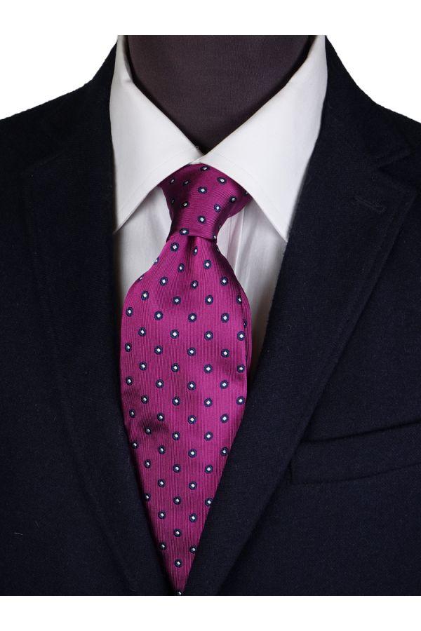 Cravatta 3 pieghe in seta PERIA