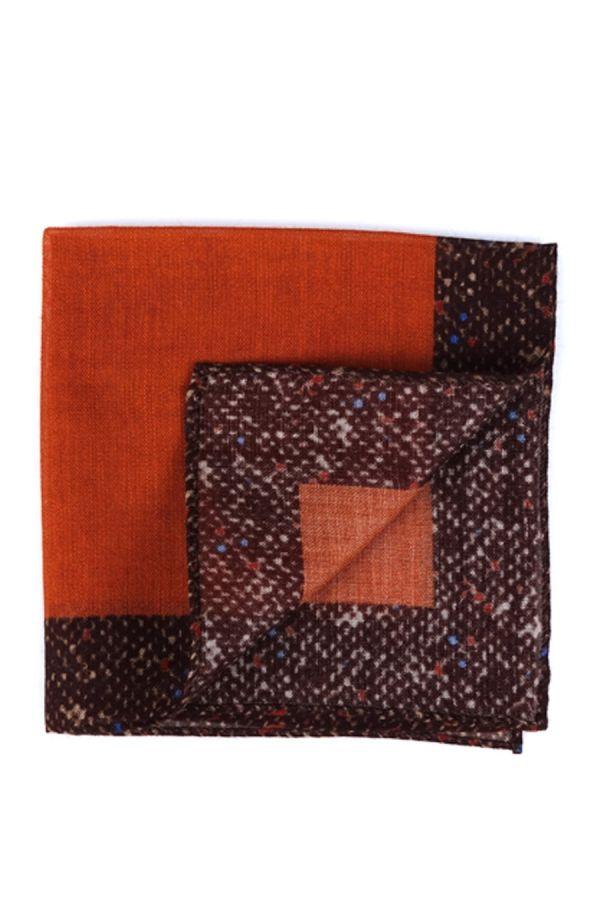 Fazzoletto da taschino in lana RUSH - Arancione