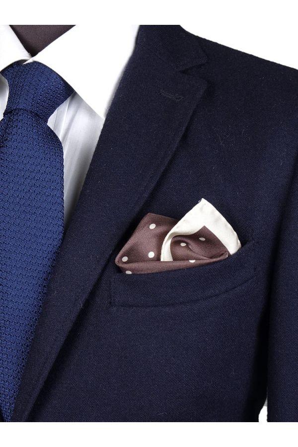 Fazzoletto da taschino PARDA - Marrone