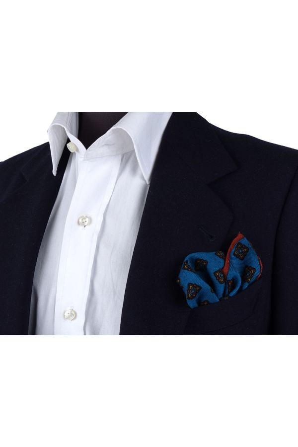 Fazzoletto da taschino RAME in lana Ottanio