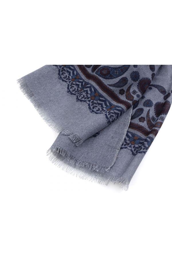 Sciarpa  lana ROSTOCK - Grigio