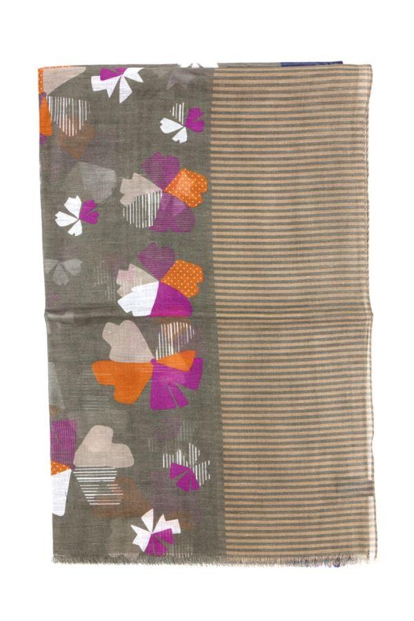 Sciarpa cotone/lino Beige  - TEVERE