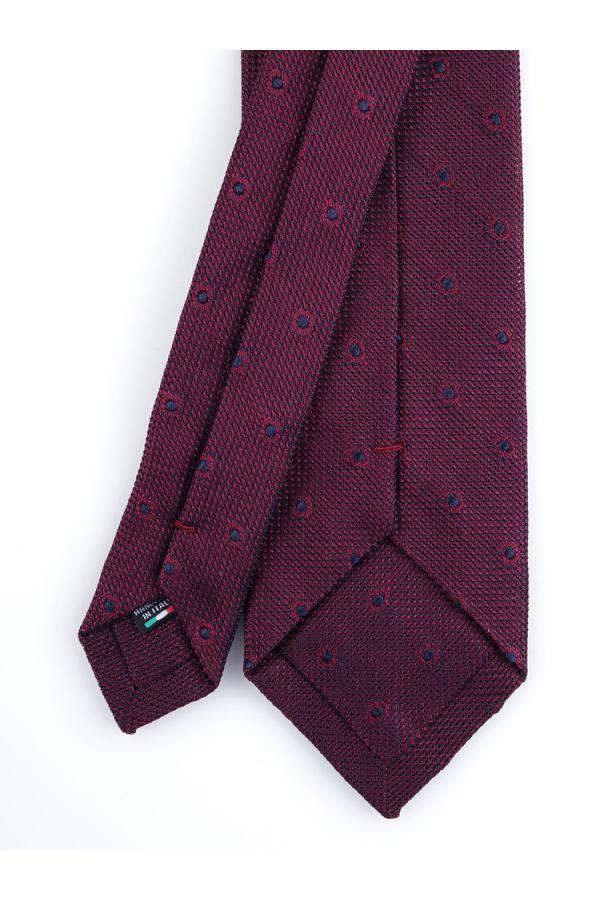 Cravatta 3 pieghe TIRELLA - Garza di seta