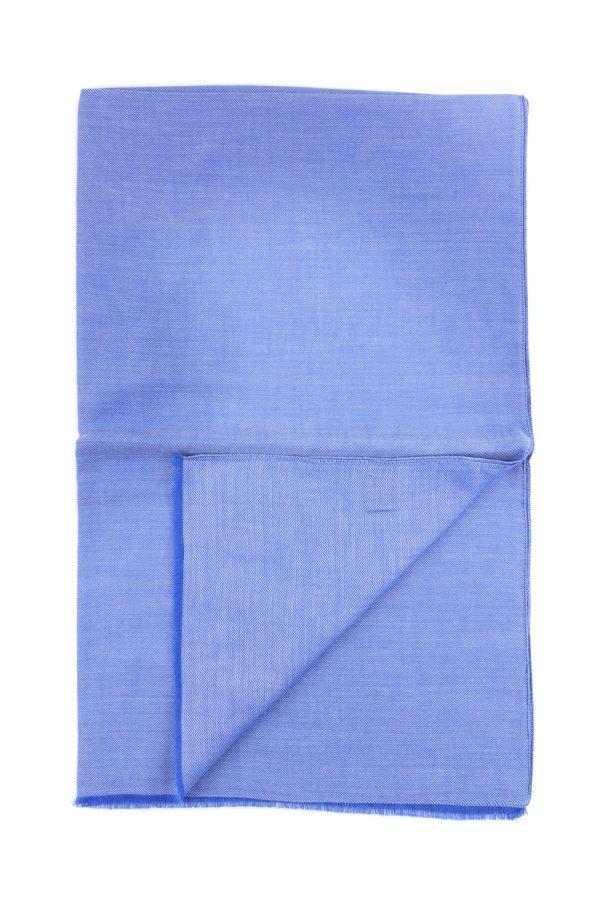 Sciarpa  Cotone/Modal UNICO - Blu Avion